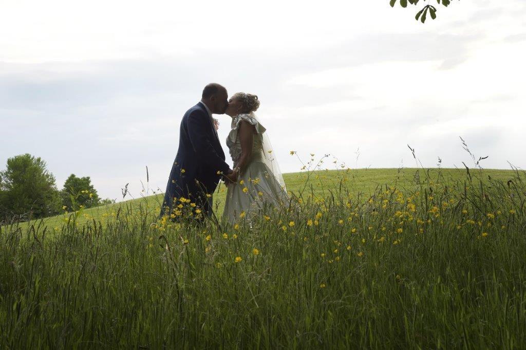 Bride-Groom-outdoors