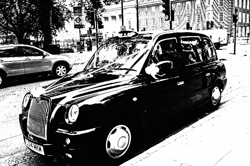 Taxi-BW