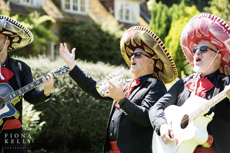 busbridge-lakes-wedding-reception-event-venue-gardens-in-surrey-mexican-band-credit-fiona-kelly-photography-wm