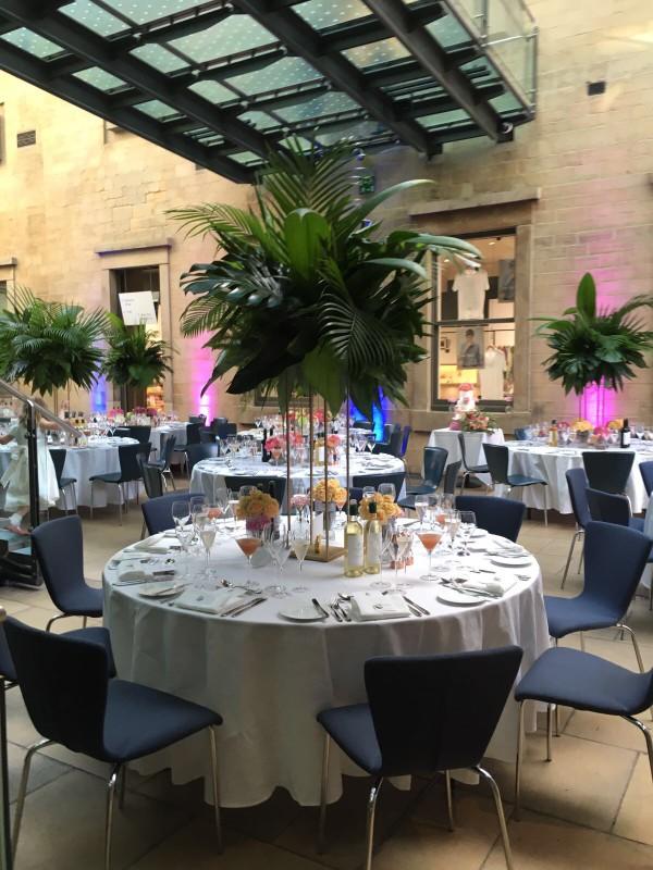 Atrium-wedding-dining-palms